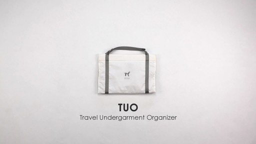 Origami Unicorn Travel Undergarment Organizer - image 2 from the video
