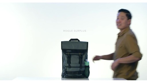 Timbuk2 Rogue Laptop Backpacks - image 1 from the video