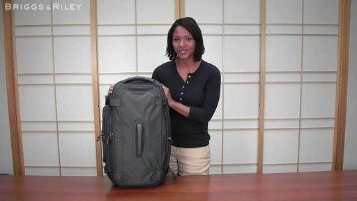 Briggs & Riley - BD126X Exchange 26 Duffle - image 1 from the video
