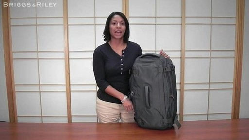 Briggs & Riley - BD126X Exchange 26 Duffle - image 10 from the video