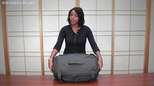 Briggs & Riley - BD126X Exchange 26 Duffle - image 3 from the video