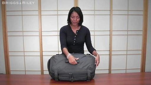 Briggs & Riley - BD126X Exchange 26 Duffle - image 4 from the video