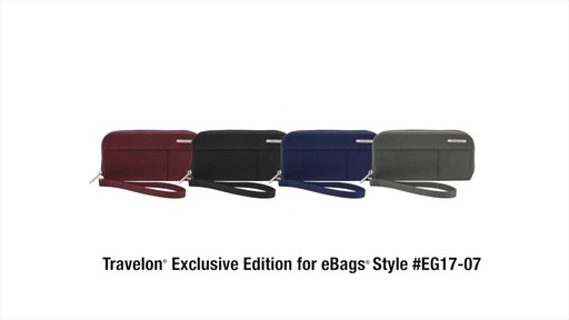 Travelon RFID Welted Wallet - Exclusive - image 10 from the video