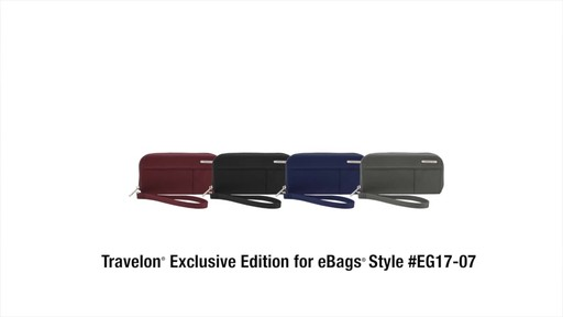 Travelon RFID Welted Wallet - Exclusive - image 9 from the video
