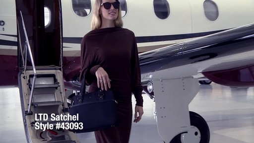 Anti-Theft LTD Satchel - eBags.com - image 1 from the video