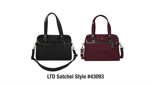 Anti-Theft LTD Satchel - eBags.com - image 10 from the video