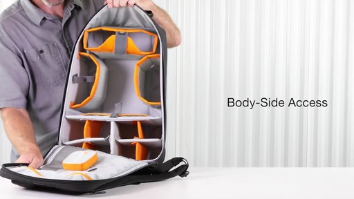 Lowepro DroneGuard BP 400 Backpack - image 4 from the video