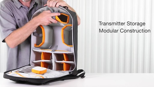 Lowepro DroneGuard BP 400 Backpack - image 5 from the video