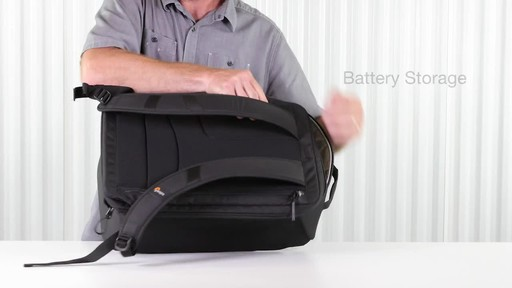 Lowepro DroneGuard BP 400 Backpack - image 7 from the video