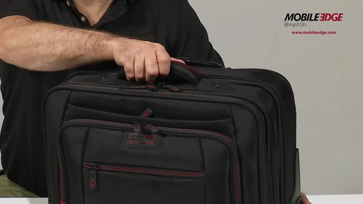 Mobile Edge Professional Rolling Laptop Case - image 4 from the video