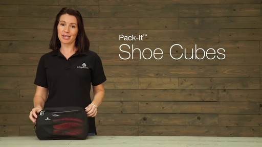 Eagle Creek Pack-It Shoe Cube - image 2 from the video