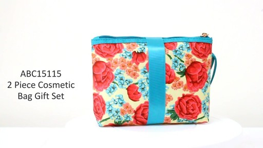 Jacki Design Miss Cherie Cosmetic Bags - eBags.com - image 1 from the video