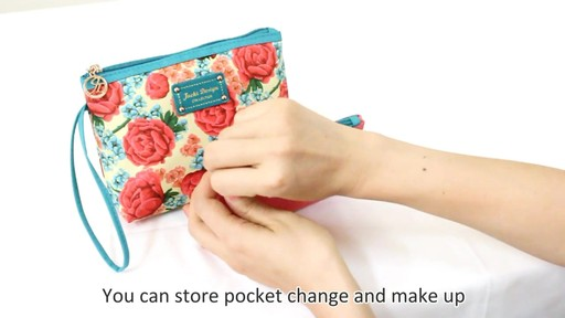 Jacki Design Miss Cherie Cosmetic Bags - eBags.com - image 2 from the video