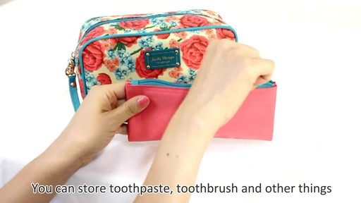 Jacki Design Miss Cherie Cosmetic Bags - eBags.com - image 5 from the video