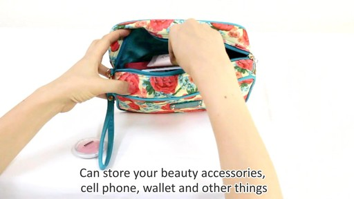 Jacki Design Miss Cherie Cosmetic Bags - eBags.com - image 6 from the video