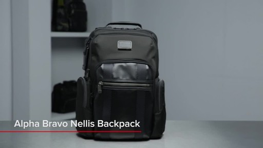 Tumi Alpha Bravo Nellis Laptop Backpack - image 1 from the video