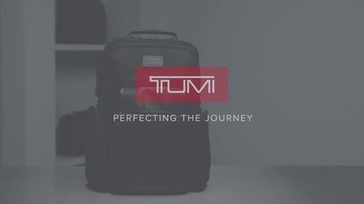 Tumi Alpha Bravo Nellis Laptop Backpack - image 10 from the video