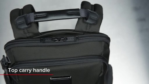 Tumi Alpha Bravo Nellis Laptop Backpack - image 3 from the video