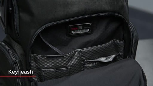 Tumi Alpha Bravo Nellis Laptop Backpack - image 7 from the video