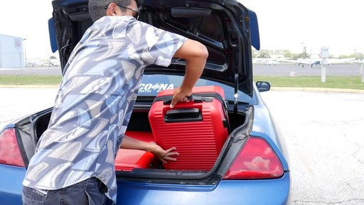 Proton Surge Hardside Spinner Luggage Collection - image 6 from the video