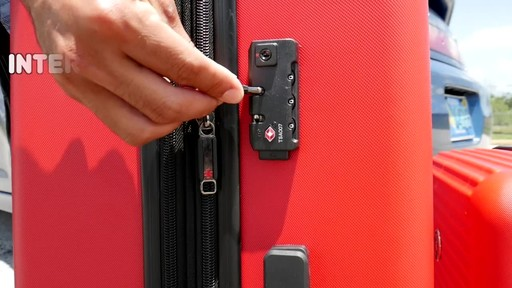 Proton Surge Hardside Spinner Luggage Collection - image 8 from the video