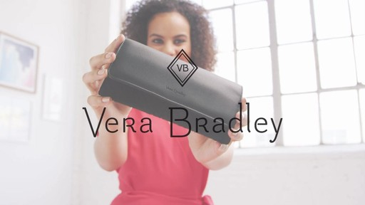Vera Bradley RFID Audrey Wallet - on eBags.com - image 10 from the video