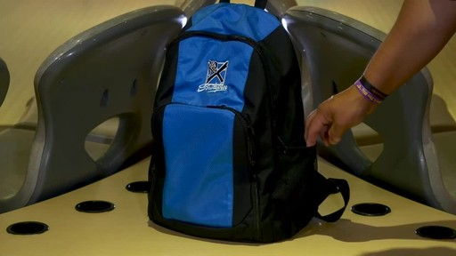 KR Strikeforce Bowling Single Shot Bowling Ball Backpack - image 7 from the video
