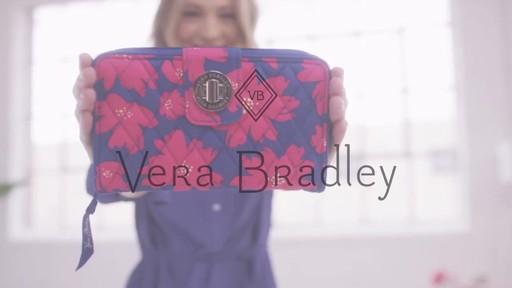 Vera Bradley RFID Turnlock Wallet - image 10 from the video