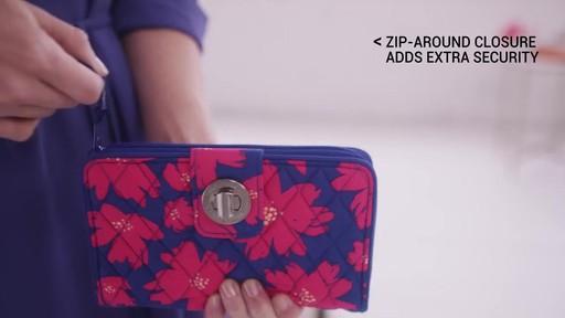 Vera Bradley RFID Turnlock Wallet - image 5 from the video