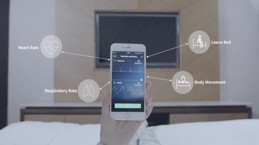 Sleepace RestOn Smart Sleep Monitor - on eBags.com - image 4 from the video