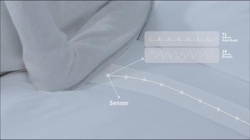 Sleepace RestOn Smart Sleep Monitor - on eBags.com - image 5 from the video