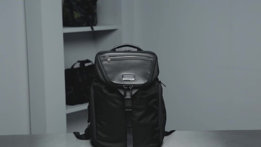 Tumi Alpha Bravo Willow Laptop Backpack - image 10 from the video