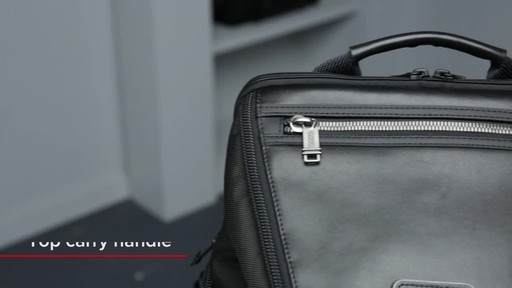 Tumi Alpha Bravo Willow Laptop Backpack - image 2 from the video