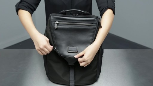 Tumi Alpha Bravo Willow Laptop Backpack - image 8 from the video