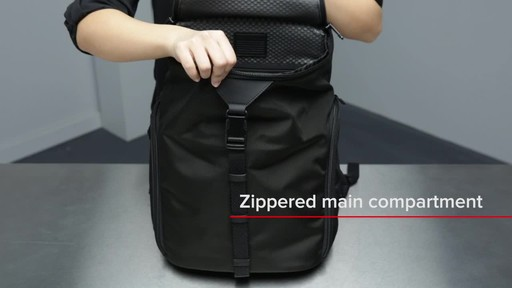 Tumi Alpha Bravo Willow Laptop Backpack - image 9 from the video