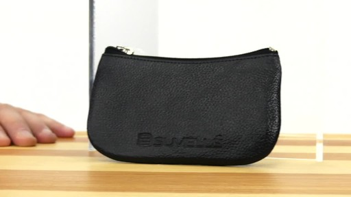 Suvelle Mens Zippered Coin Pouch Change Wallet - image 1 from the video