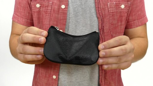 Suvelle Mens Zippered Coin Pouch Change Wallet - image 2 from the video