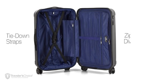 Traveler's Choice La Serena Luggage Collection - image 5 from the video