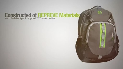 ecogear Flash Backpack - image 1 from the video