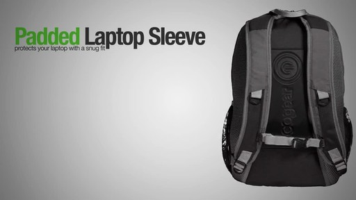 ecogear Flash Backpack - image 3 from the video