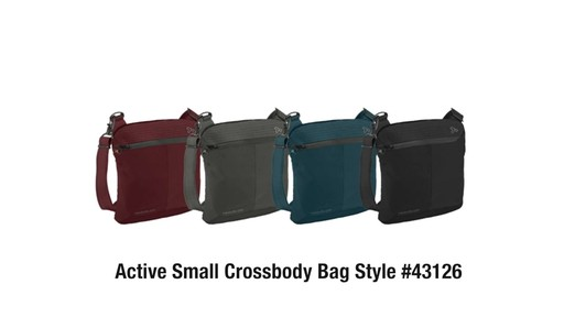 Travelon Anti-Theft Active Small Crossbody Bag - on eBags.com - image 10 from the video