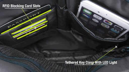 Travelon Anti-Theft Active Small Crossbody Bag - on eBags.com - image 4 from the video