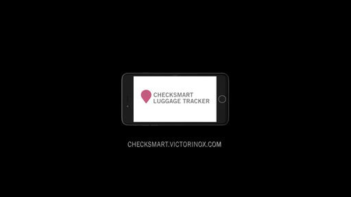 Victorinox CheckSmart Luggage Tracker - on eBags.com - image 9 from the video