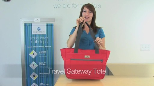 Eagle Creek Travel Gateway Tote - image 1 from the video