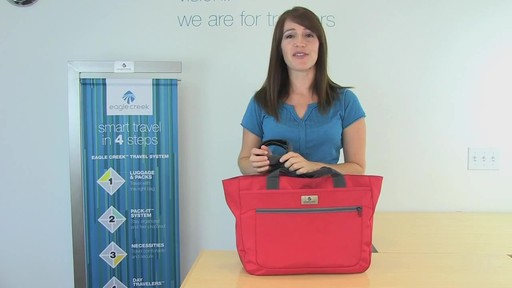 Eagle Creek Travel Gateway Tote - image 10 from the video