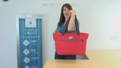 Eagle Creek Travel Gateway Tote - image 2 from the video