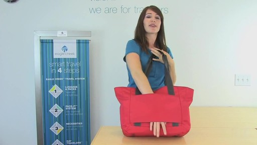 Eagle Creek Travel Gateway Tote - image 8 from the video