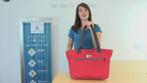 Eagle Creek Travel Gateway Tote - image 9 from the video
