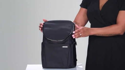 Briggs & Riley Sympatico Small U-Zip Backpack - image 10 from the video