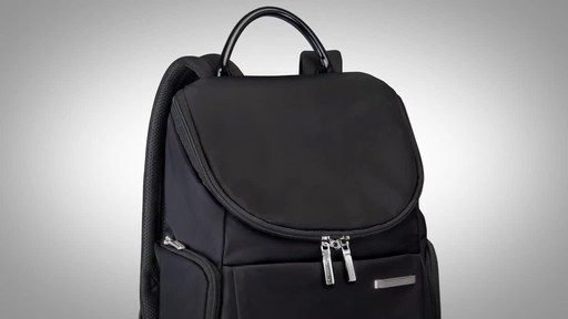 Briggs & Riley Sympatico Small U-Zip Backpack - image 3 from the video